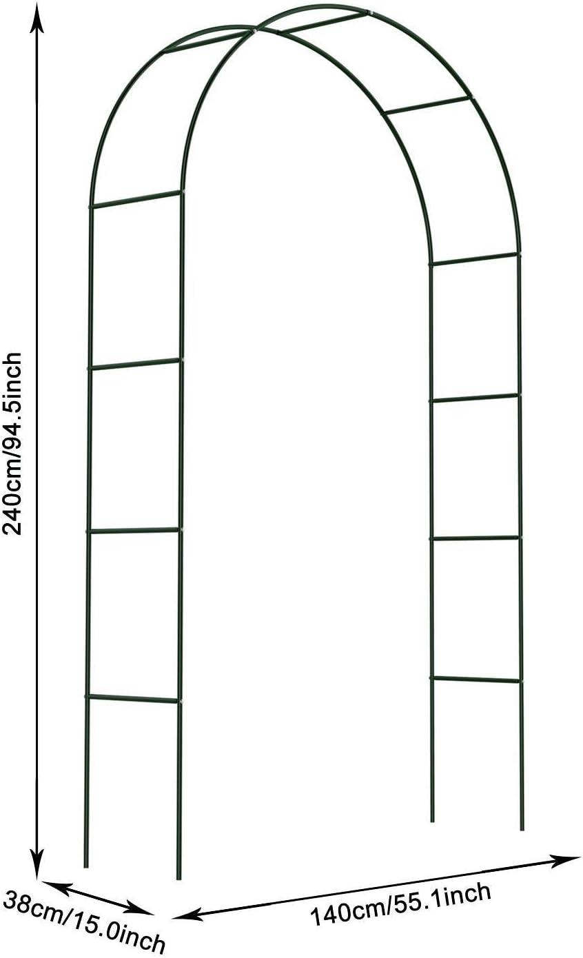 Pairka Arco de Jardín Trepadoras en Forma de Torre Soportes para ...