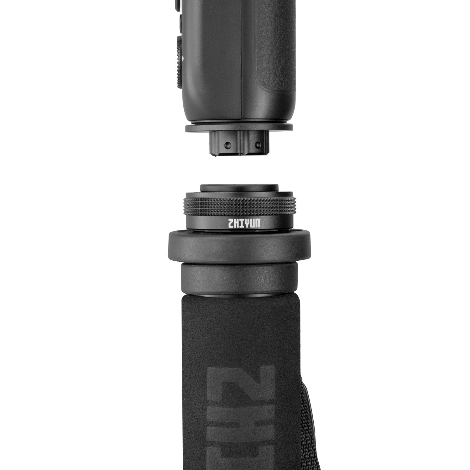 Zhiyun Accessories TransMount phone Holder with Crown Gear Phone Clamp Adapter for Handheld Gimbal Stabilizer WEEBILL LAB,Crane 3 Phone Holder