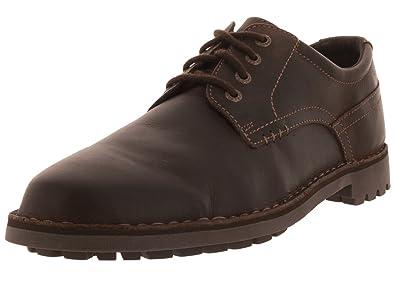 Sebago Men's Metcalf Plain Toe Dark Brown ...
