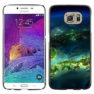 iKiki Tech / Estuche rígido - Island Planet Earth Space - Samsung Galaxy S6 SM-G920