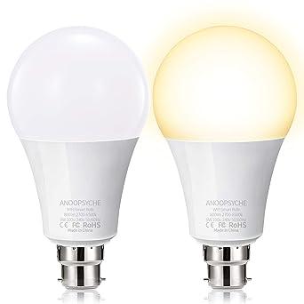Wifi Smart Glühbirne Von Anoopsyche Alexa Ohne Hub Erforderlich B22