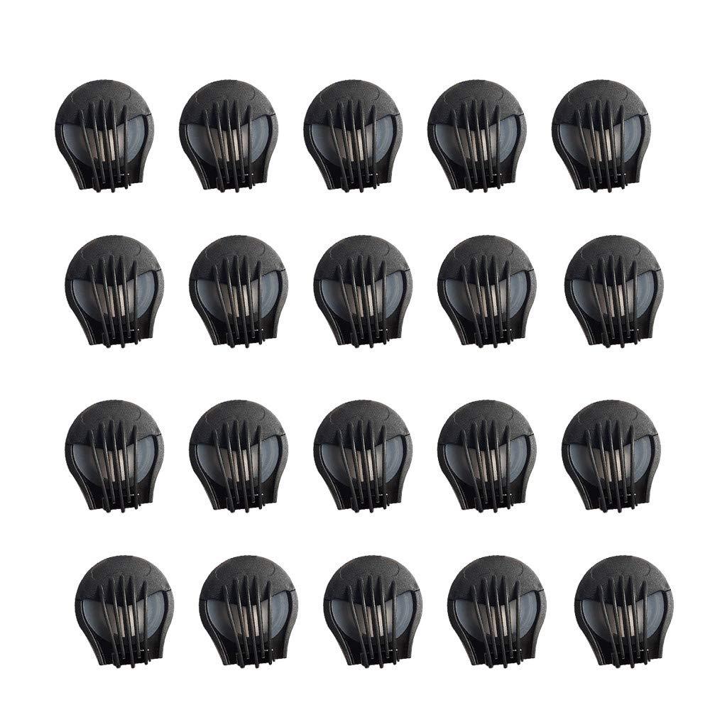 20 filtros de protección facial, accesorios para válvulas de respiración
