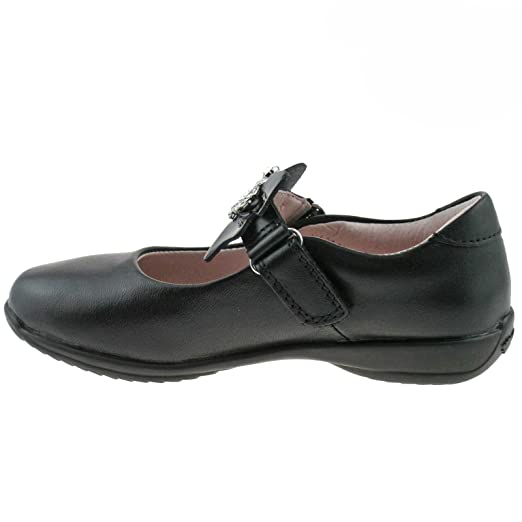 Lelli Kelly Black Leather Sophia School Shoes F Fitting  LK8308 CB01