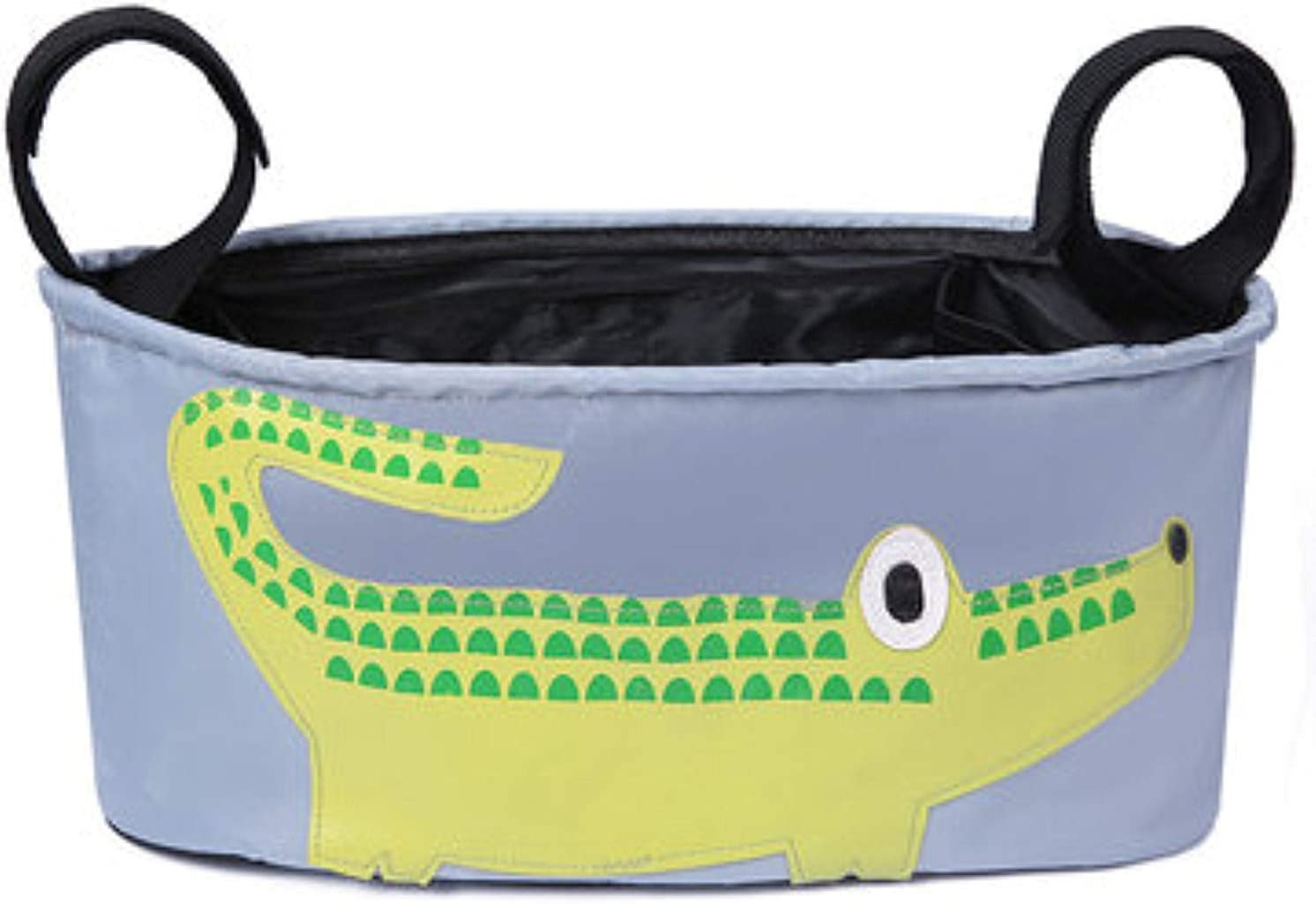 Bolsa para carrito de bebe ligera pequeña manejable y resistente (Cocodrilo)