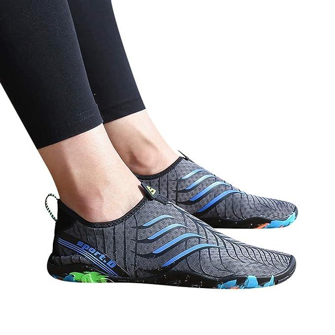 Amazon.com: Zapatillas de agua de secado rápido para hombre ...