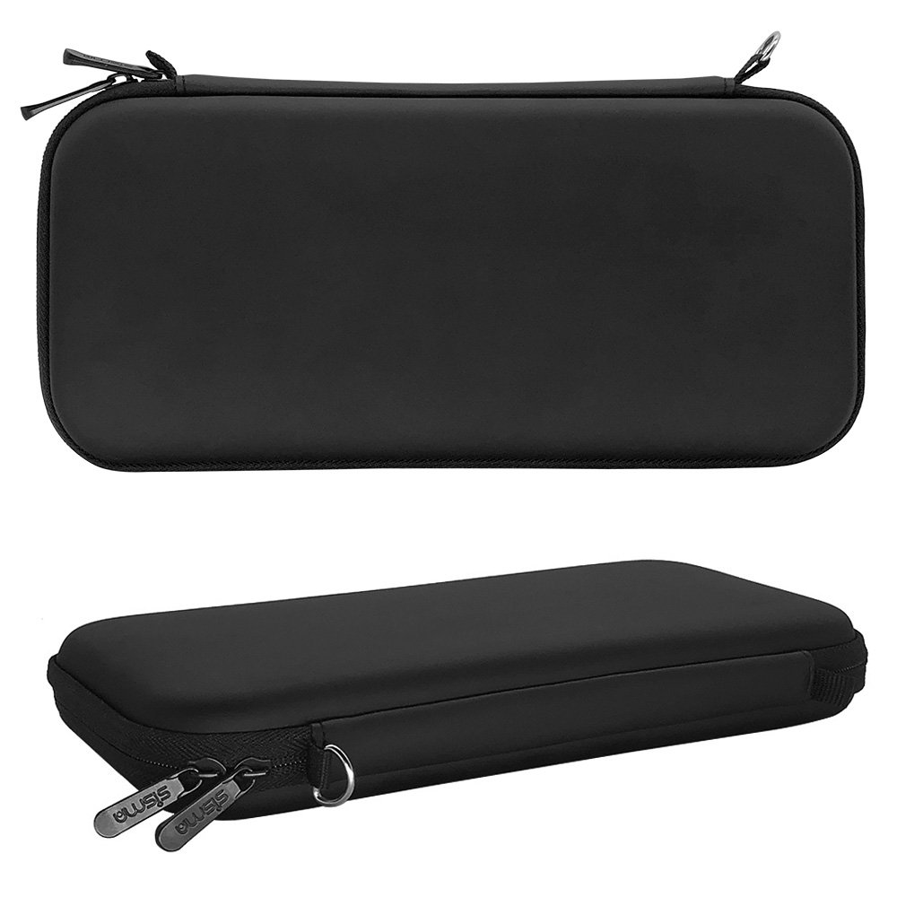 sisma Slim Carrying Case for Nintendo Switch Console with Joy-Con Controllers, Black SVG180401SWC-B by sisma