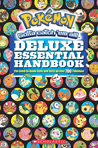 Pokémon Deluxe Essential Handbook: Over 700 Pokémon