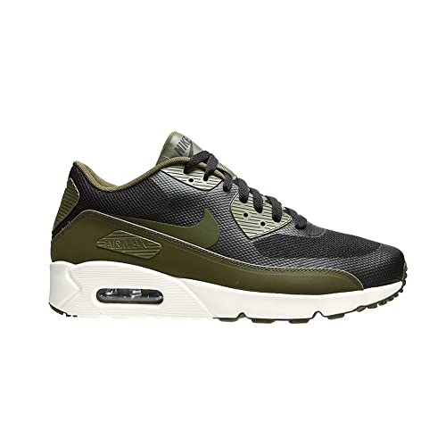 Nike Air Max 90 Ultra Essential Schwarz Grun (Damen) | Stilvoll
