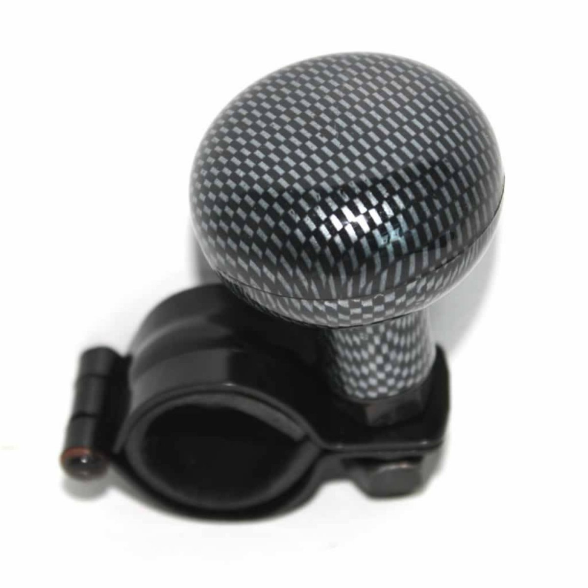 XtremeAuto® CARBON LOOK Universal Steering Wheel Knob/Brodie Knob For Car, Van, Truck, Tractor, Boat etc. XtremeAuto®