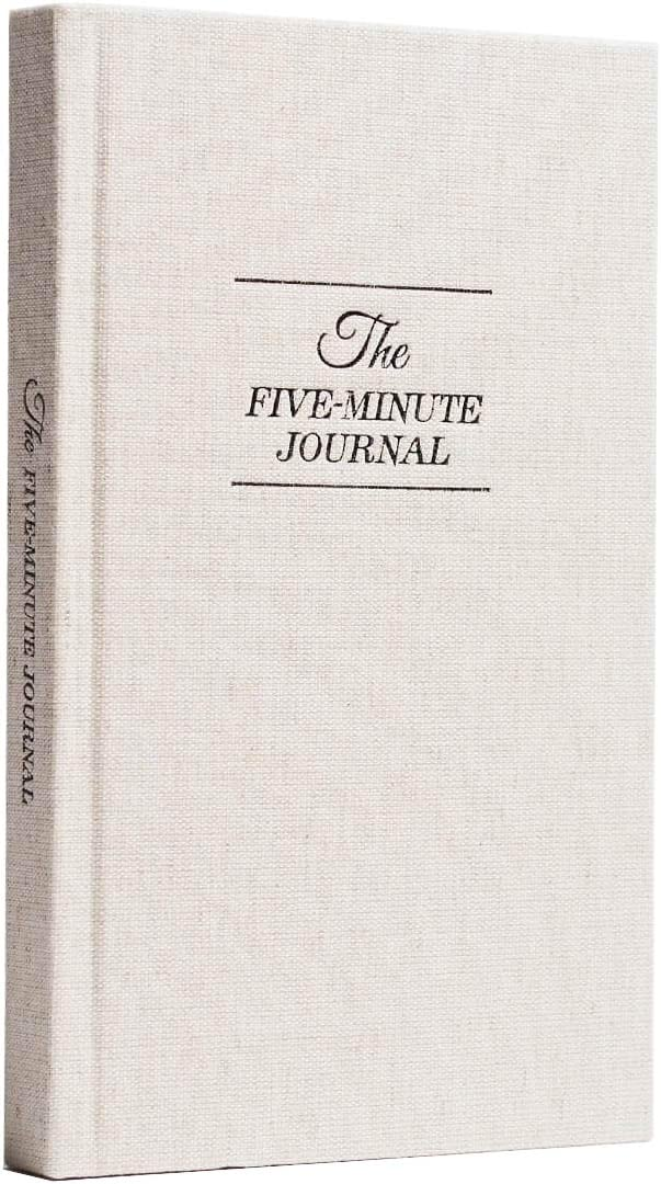The Five Minute Journal: A Happier You in 5 Minutes a Day | Original Creator of The Five Minute Journal - Simple Daily Guided Format - Increase Gratitude & Happiness, Life Planner, Gratitude List