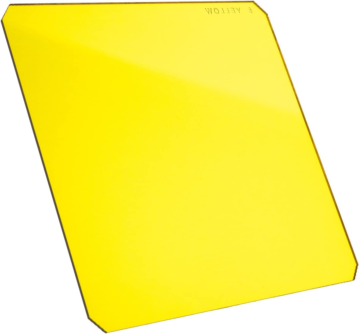 Formatt-Hitech 100x100mm Resin Black and White 8 Yellow 4x4