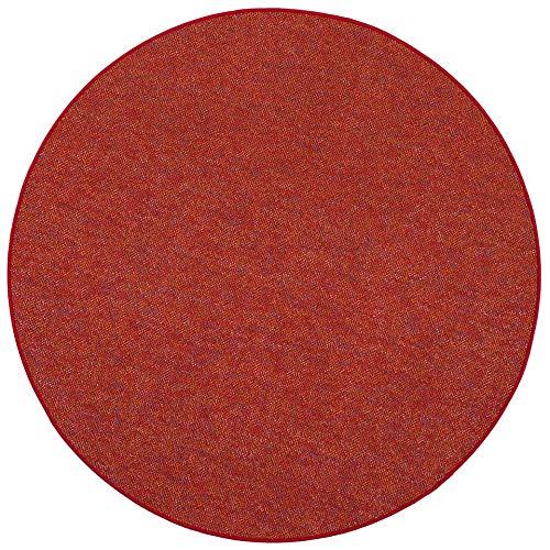 Snapstyle Schlingen Teppich Alma Rot Meliert Rot Rot Rot Rund in 7 Größen B07MK6652H Teppiche f4d586