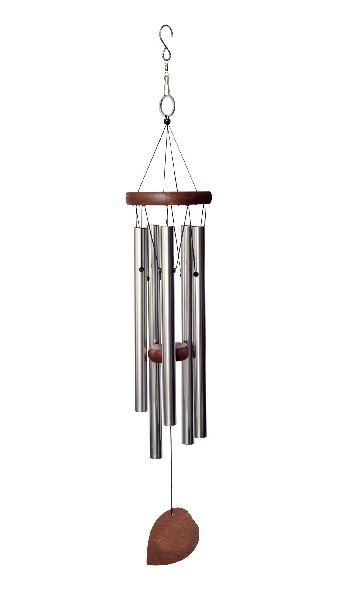 BeckGear Unique Outdoor Aluminum tube 22'' Metal Wind Chimes, Beautiful Windchimes Producing Soothing Sounds
