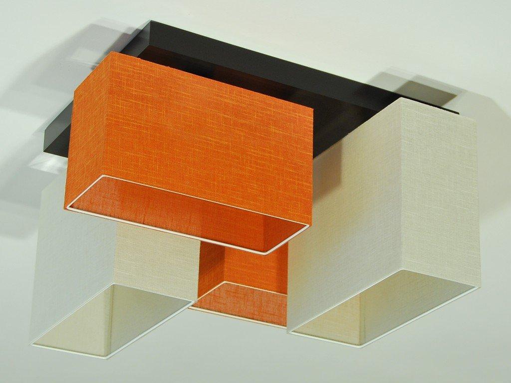 Plafoniere A Soffitto Per Cucina : Plafoniera illuminazione a soffitto jls brecd in legno massiccio