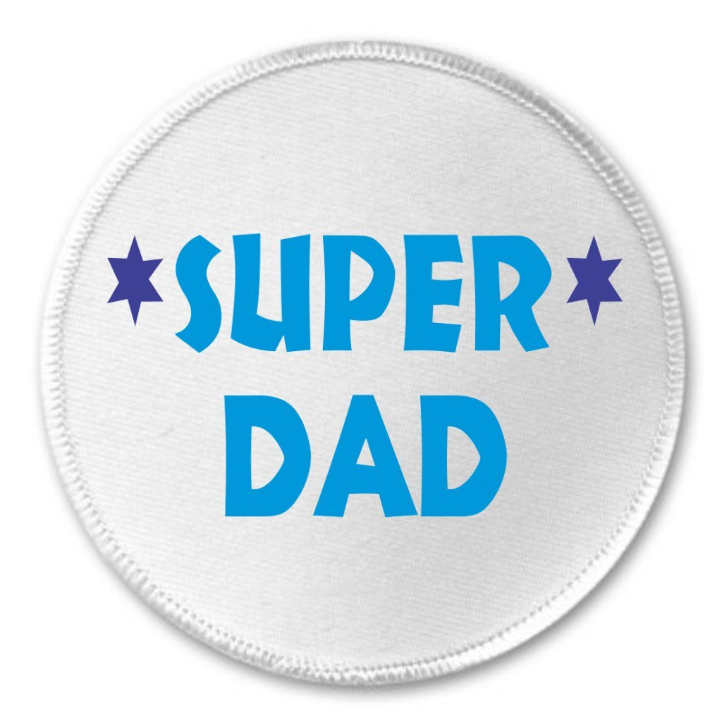 Amazon Super Dad 3 Sew On Patch Best Love Father Clothing