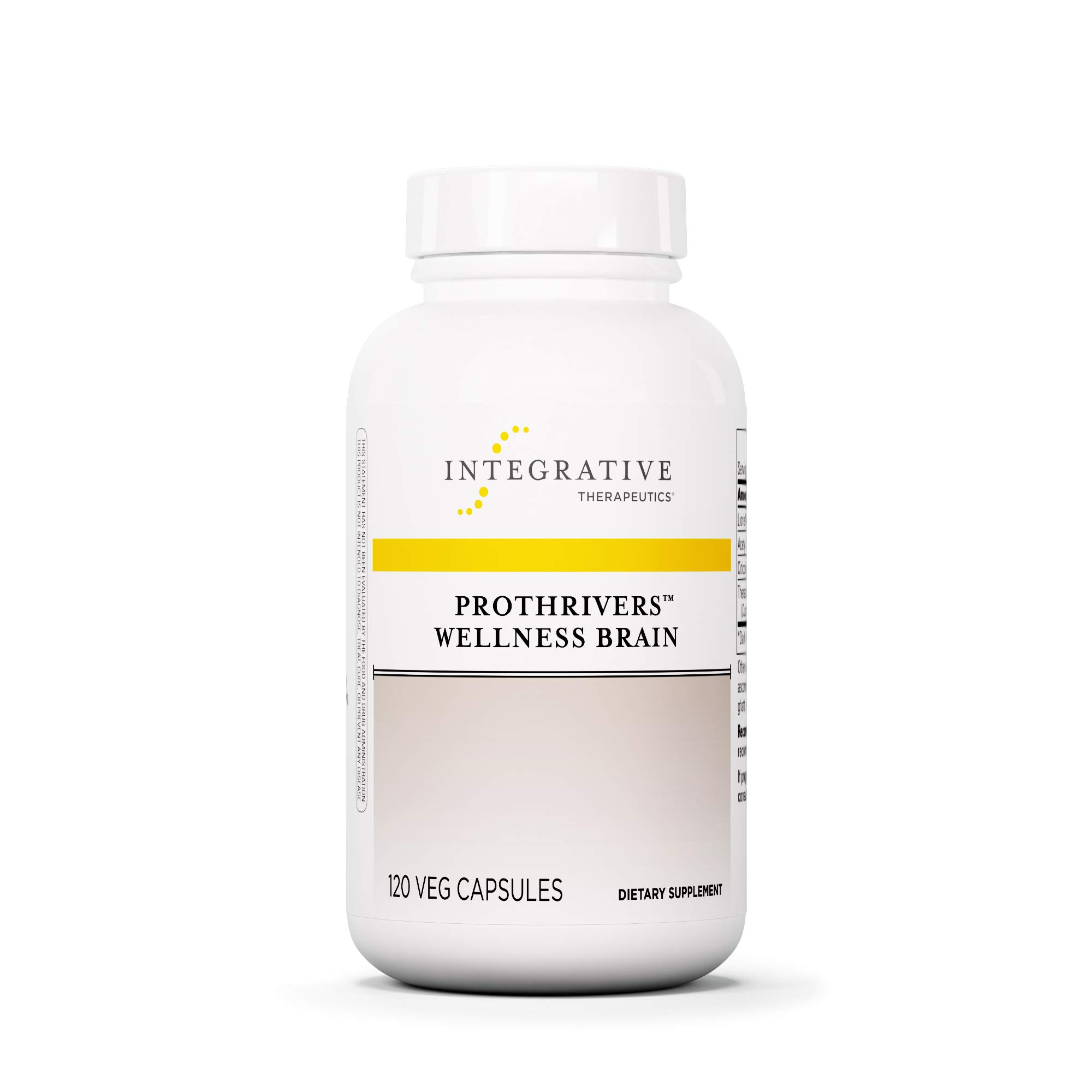 Integrative Therapeutics - ProThrivers Wellness Brain - Supports Cognitive Clarity - 120 Capsules