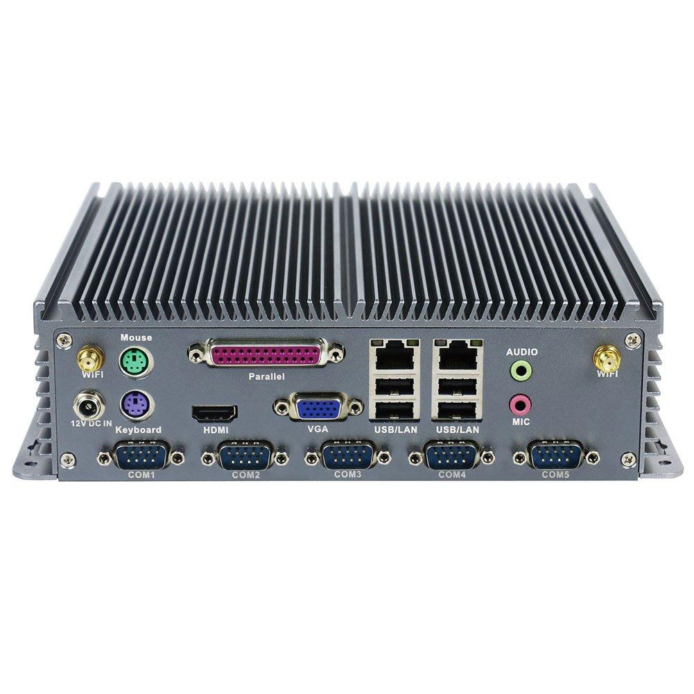 大勧め Fanless Industrial PC Rugged J1900 Computer I15+ Windows IPC Mini PC Windows 10 Pro/Linux with Intel Quad Core J1900 6 COM 2 Intel LAN 4G RAM 128G SSD Partaker I15 B07CVZJHT3 I15+ J1900 4G RAM 128G SSD, 最適な価格:c6f96e94 --- arbimovel.dominiotemporario.com