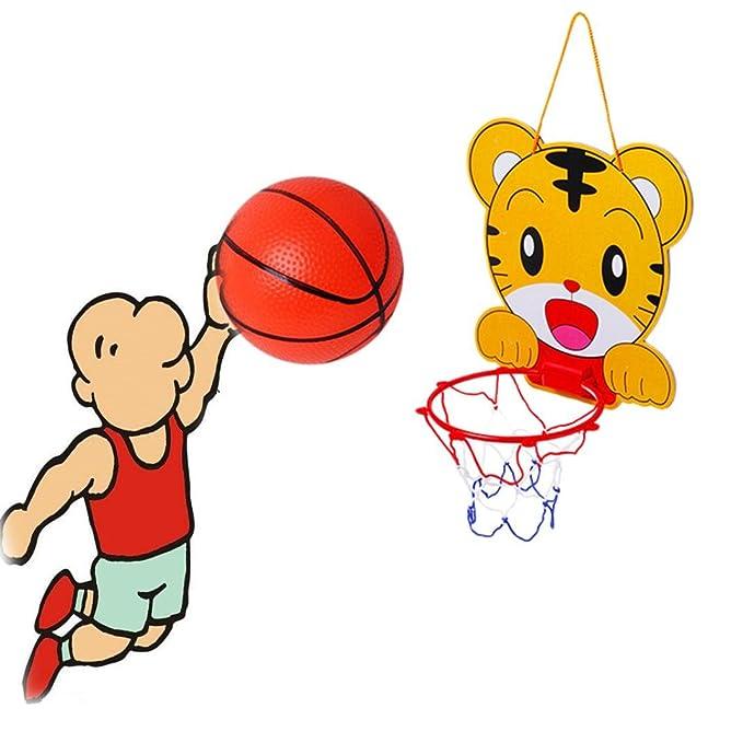 Amazon.com: Aro de baloncesto juguete para niños tablero ...