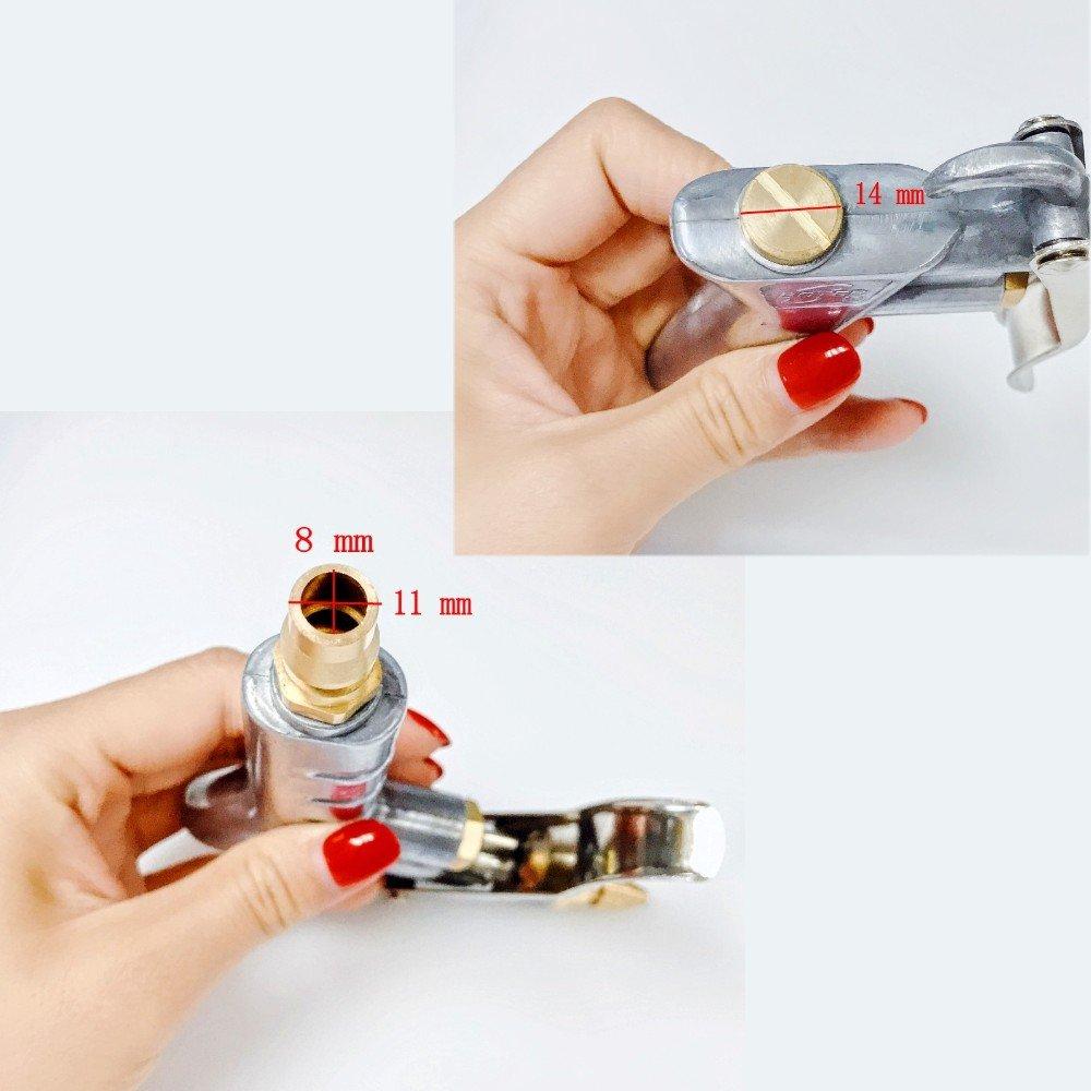 JZK Pistola de Soplado de Aire Comprimido Herramienta de Limpiador de Pistolas de Aire Comprimido: Amazon.es: Bricolaje y herramientas