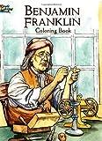 Benjamin Franklin Coloring Book, Peter F. Copeland, 0486439887