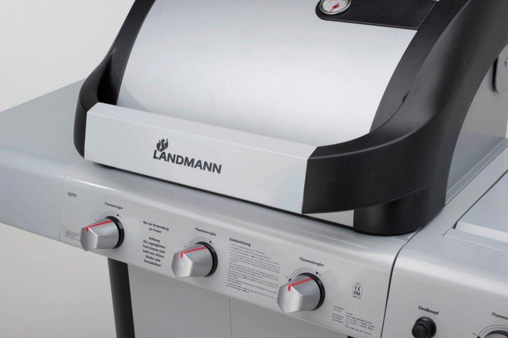 Landmann Gasgrill Cronos : Landmann cronos gasgrillkueche brenner und seitenbrenner
