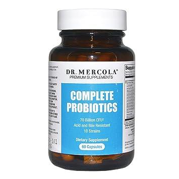 Dr. Mercola Complete Probiotics 60   30 Servings   Twice Daily Probiotic  Supplement   70