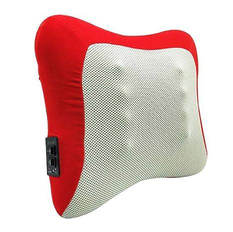 Almohada de Masaje Shiatsu Cojín Masajeador para Cuello y ...