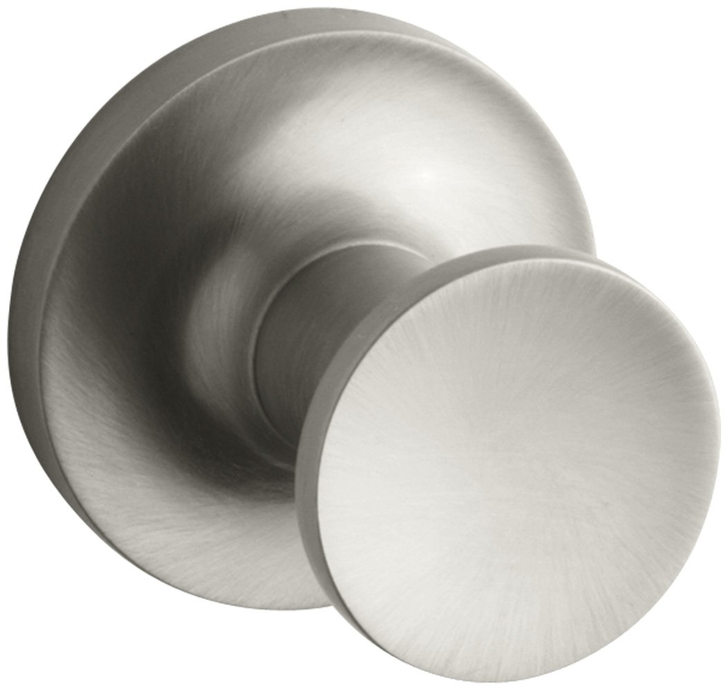 KOHLER K-14443-BN Purist Robe Hook, Vibrant Brushed Nickel by Kohler (Image #1)