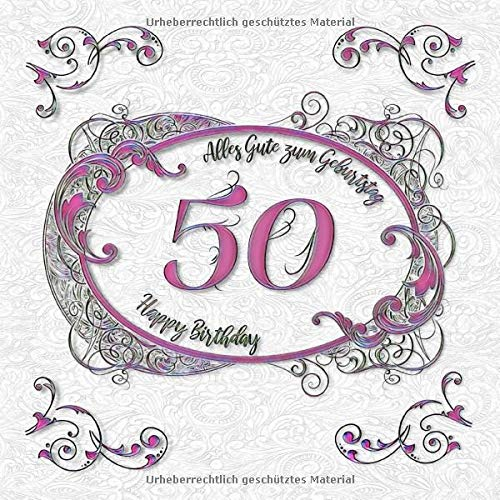 Geburtstagswunsche 2 x 50