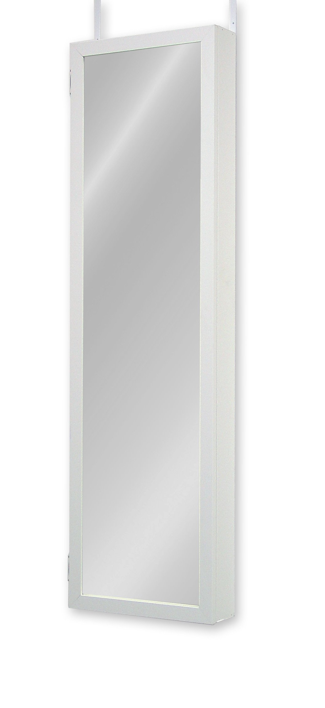 Plaza Astoria Wall/Door-Mount Jewelry Armoire, White by Plaza Astoria (Image #3)
