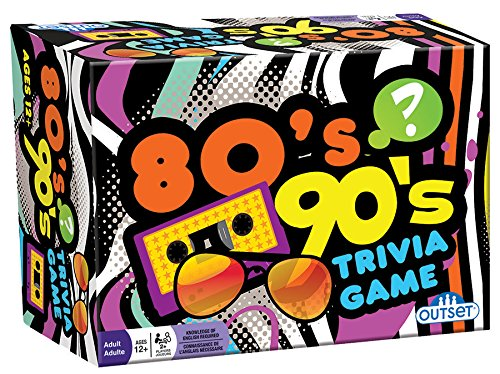 90's Trivia - Includes 220 Cards with Over 1200 Fun Questions and Answers - Ages 12+ ()