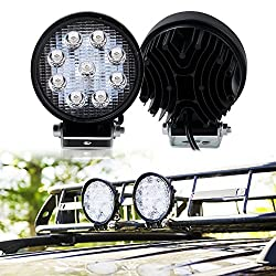 TURBO SII 2Pcs 4 Inch Round Pods Spot Led Driving