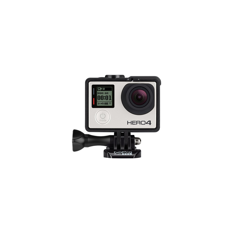GoPro HERO4 Silver Music Edition - Videocámara Deportiva (12 MP, Wi-Fi, Bluetooth, Sumergible hasta 40 m)