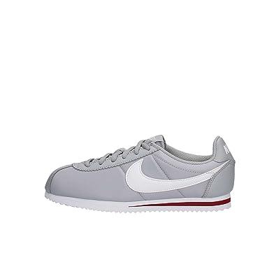 finest selection a9eb2 9e04d Nike Cortez Nylon (GS) - Scarpe da Corsa, Uomo, Colore Grigio (