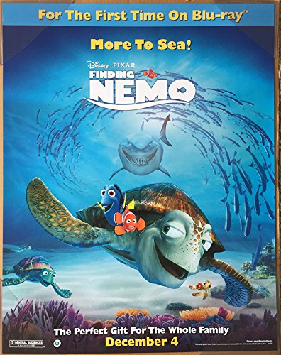 Amazon finding nemo movie poster 1 sided original mini sheet finding nemo movie poster 1 sided original mini sheet 22x28 albert brooks altavistaventures Gallery
