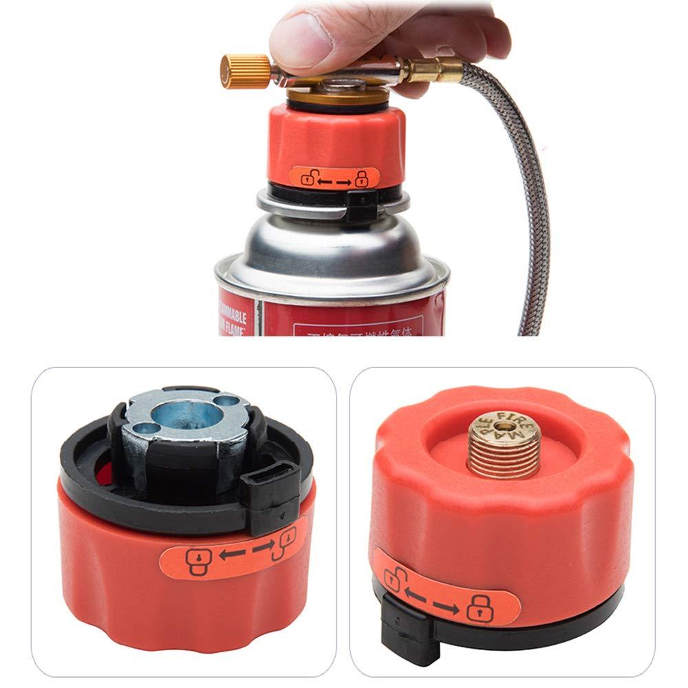 Fire-Maple Boquilla Adaptador conector de transferencia para estufa de botella de gas hornillo quemador conversión: Amazon.es: Deportes y aire libre