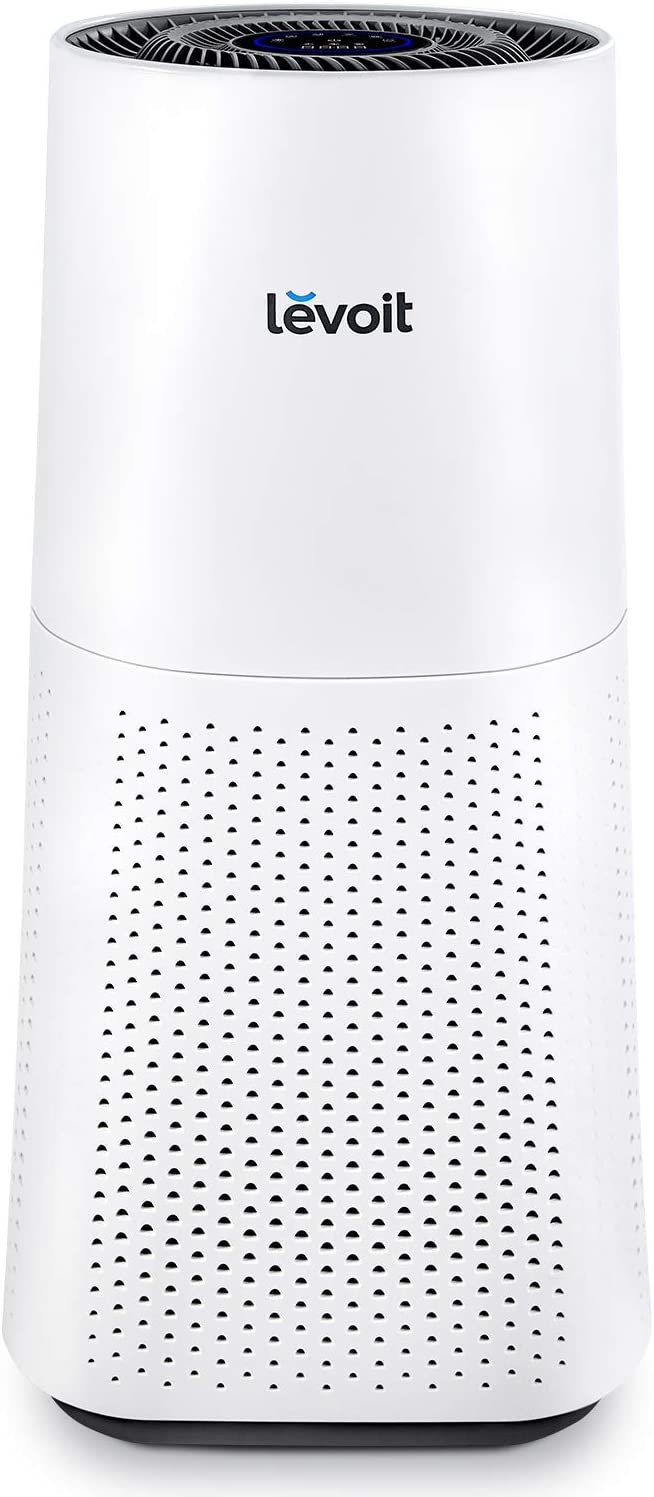 LEVOIT Purifier for Home Large Room with True HEPA Filter Air Cleaner for Allergies and Pets, Smokers, Mold, Pollen, Dust, Quiet Odor Eliminators for Bedroom, 710 Sq. Ft, LV-H134