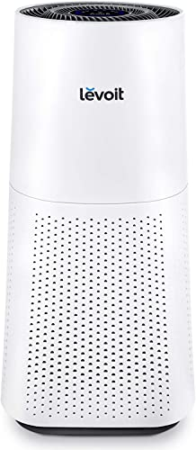 LEVOIT Air Purifier for Home Large Room with True HEPA, Filter for Allergies and Pets, Cleaner for Mold, Pollen, Dust, Quiet Odor Eliminators for Bedroom, Smart Sensor, Auto Mode, LV-H134
