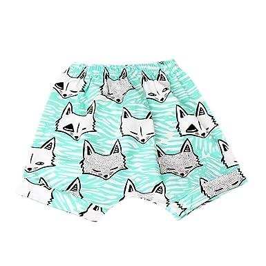 03d76120750a1 Zerototens Boys Girls Shorts,Newborn Infant Kids Lovely Children Summer  Cartoon Animal Shorts Toddler Bloomers Pant Boy Shorts Cotton Underwear  Casual Beach ...