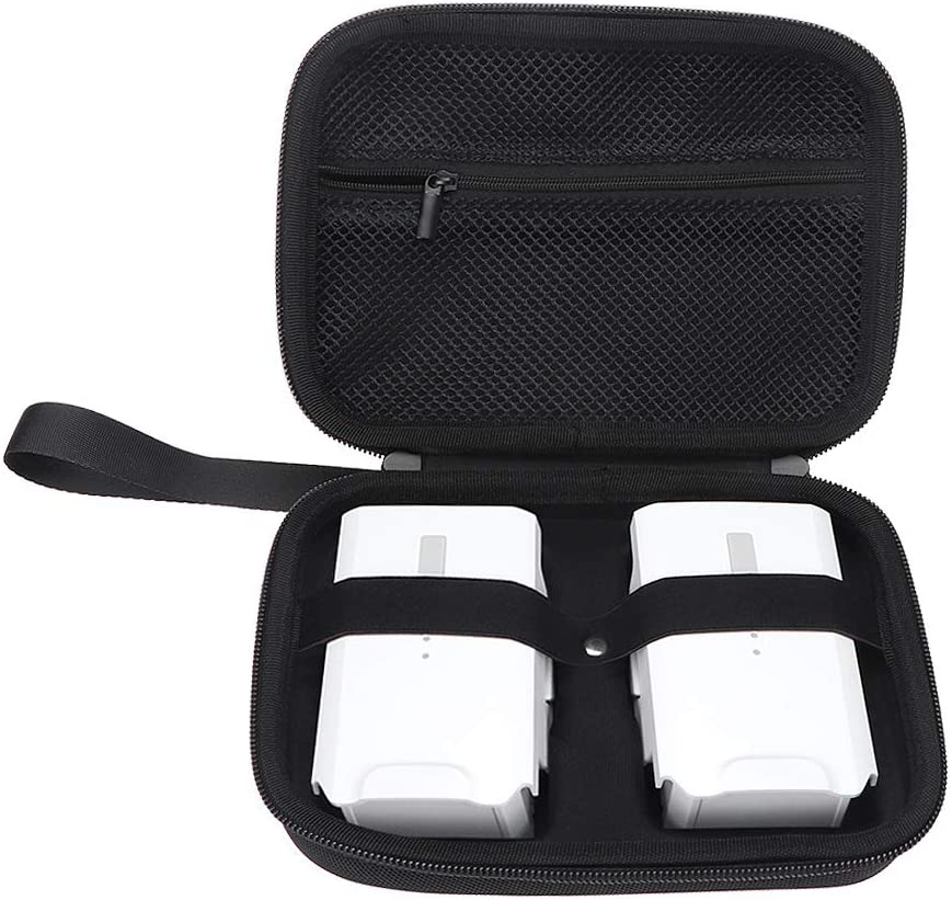 EVA Hard Shell Protection Cover Safe Box Carrying Case for FIMI X8 SE Battery Accessory Tineer FIMI X8 SE Waterproof Nylon Storage Bag for 2PCS Batteries