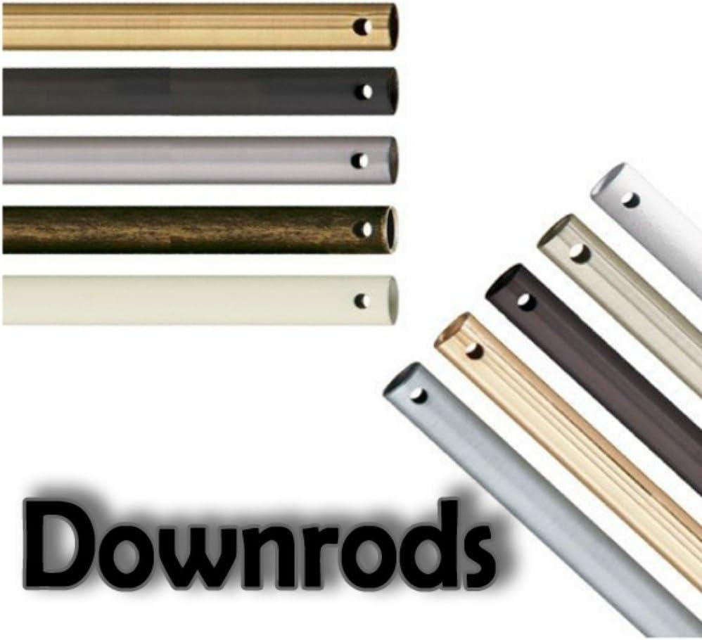 Choose Finish: Satin Black Downrod Options: Basics Downrod 12 Fan Downrod Kichler Lighting 450SBK Accessory