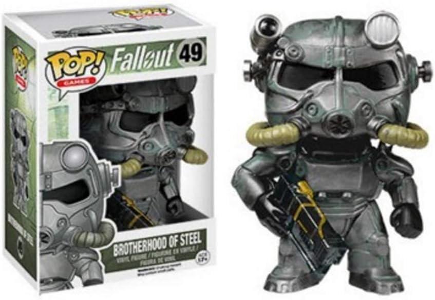 CJH Juego: Fallout -Brotherhood de Acero: Pop!Figura PVC Popular y Precioso de Dibujos Animados con envases Exquisita la Mejor colección de Fallout tamaño de Aficionados: 10 cm: Amazon.es: Juguetes y juegos
