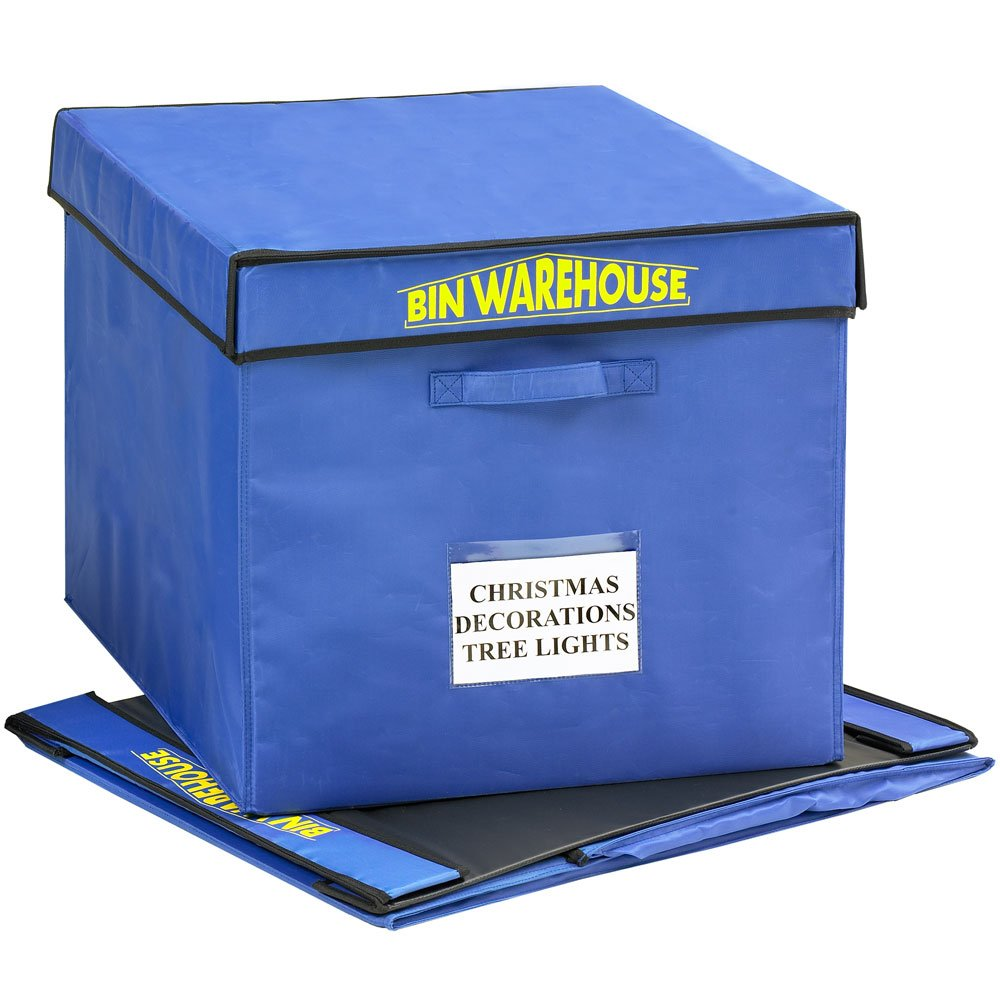 Amazon.com: Bin Warehouse DFAE32FT4P Fold A Tote, 32 Gallon Size (Pack Of  4): Home Improvement