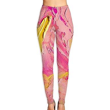 Amazon.com: Pantalones de yoga para mujer, multicolor ...
