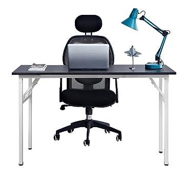 Need Mesa Plegable 120x60cm Mesa de Ordenador Escritorio de Oficina Mesa de Estudio Puesto de trabajo Mesas de Recepción Mesa de Formación AC5CW-120 ...