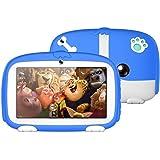Layopo 2019 Nueva Tableta para Niñ Tableta para Niños de 7 Pulgadas WiFi de 8GB, HD Edición para Niños Tableta con Cámaras Dobles Ranura para Tarjeta SD y Estuche a Prueba de Niños