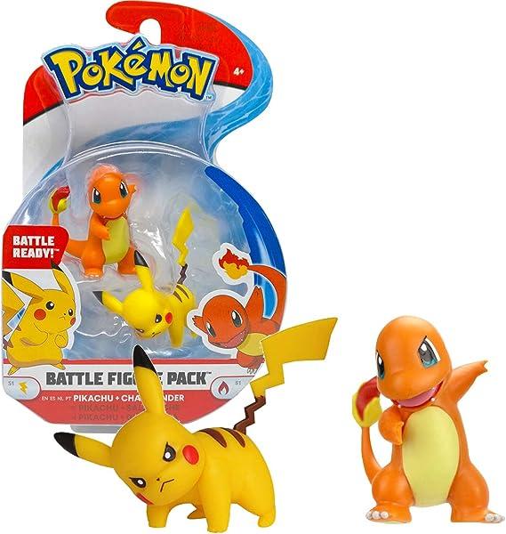 BANDAI Pokémon - Pack de 2 Figuras: Amazon.es: Juguetes y juegos