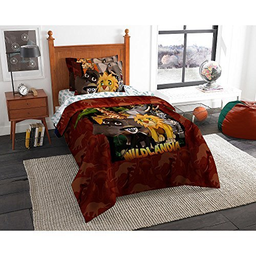 Wildlandia Twin/Full Bedding Comforter Set with AR Technolog