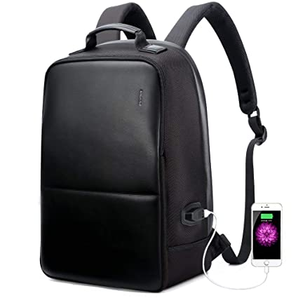 7ac0f37877c3 BOPAI Anti-Theft Business Backpack 15.6 Inch Laptop Water-Resistant with  USB Port Charging
