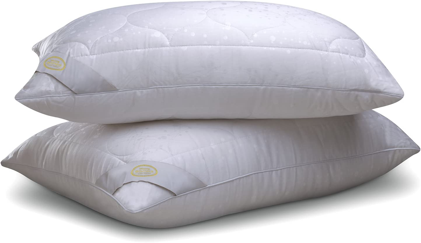 Boom Pro anti-allergie Paire Oreiller Protecteurs 100/% Coton Anti-bacterial zippées un